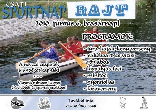Csati Sportnap